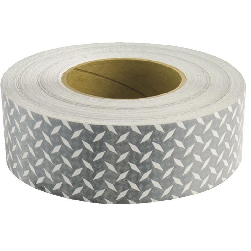 Diamond-plated White Reflective Conspicuity Tape