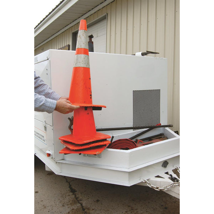 Vertical Mount Traffic Cone Holder