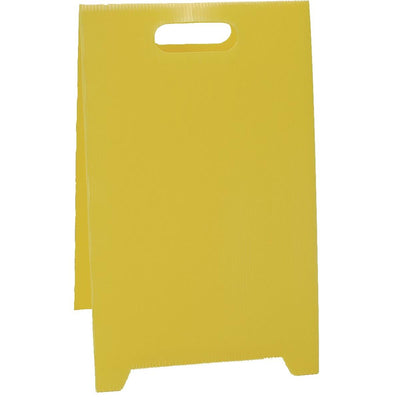 Blank Yellow Floor Stand Sign