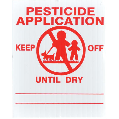 GEMPLER'S Florida Lawn Pesticide Application Signs