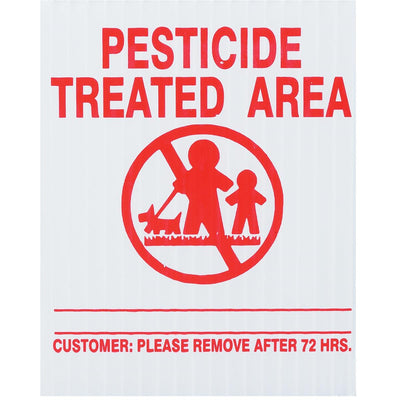 GEMPLER'S New Jersey Lawn Pesticide Application Signs