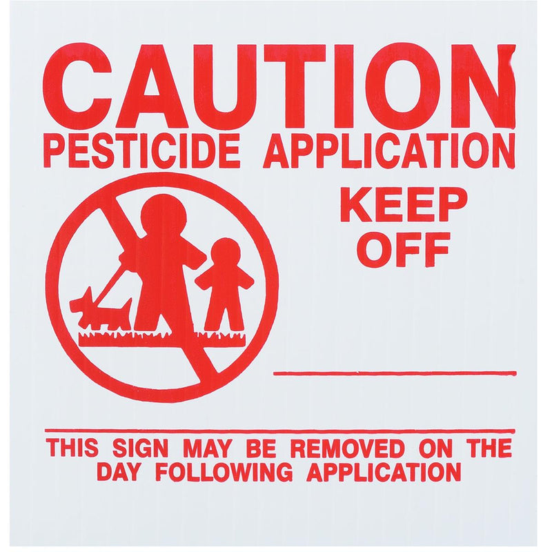 GEMPLER'S Georgia Lawn Pesticide Application Signs