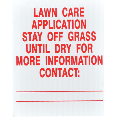 GEMPLER'S Illinois Lawn Pesticide Application Signs