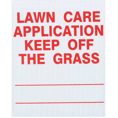 GEMPLER'S Indiana Lawn Pesticide Application Signs