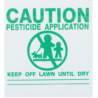GEMPLER'S Maine Lawn Pesticide Application Signs