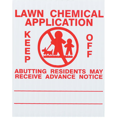 GEMPLER'S Ohio Lawn Pesticide Application Signs