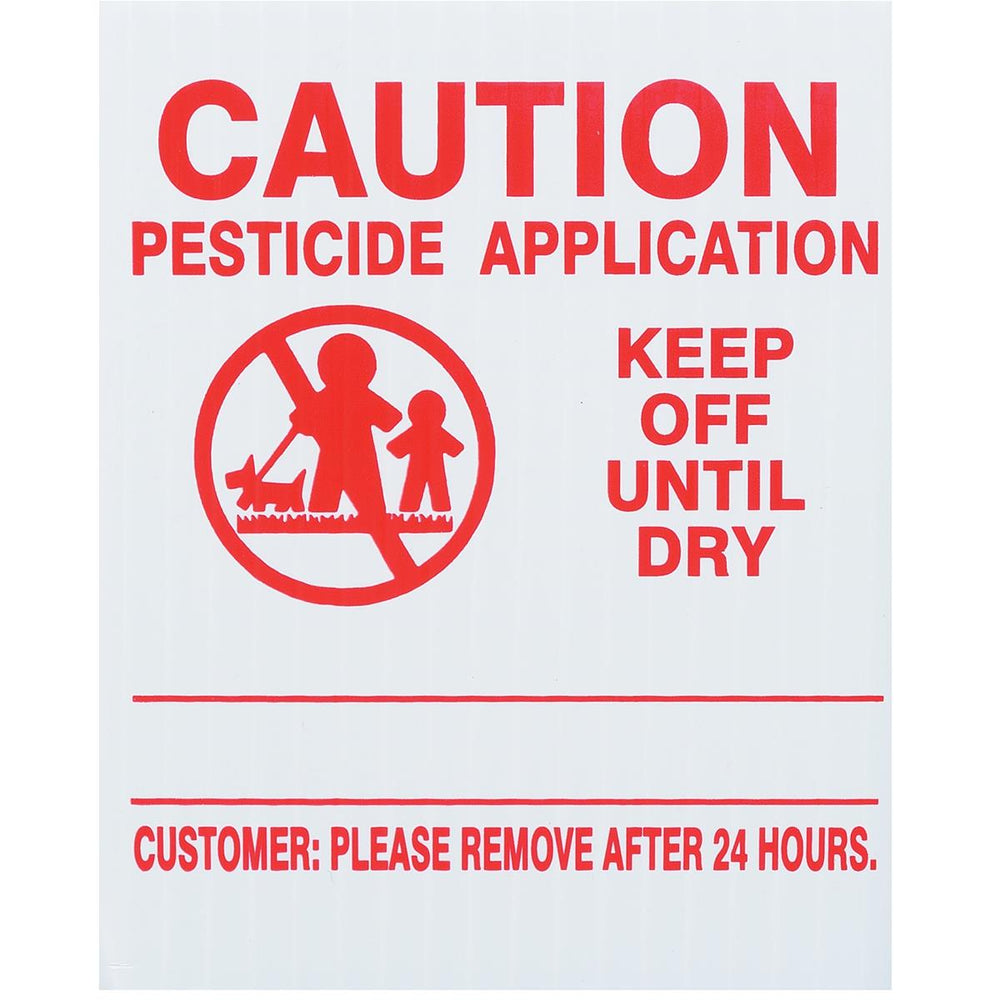 GEMPLER'S Vermont Lawn Pesticide Application Signs