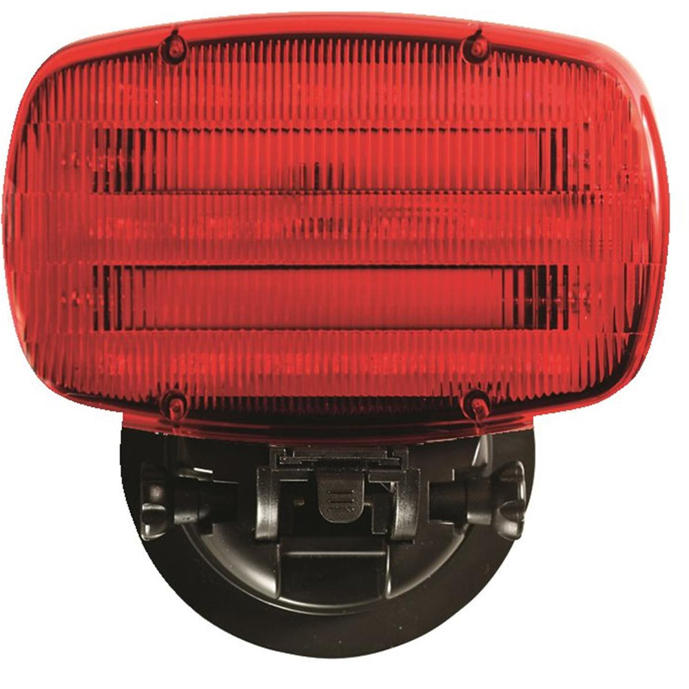 Pivoting Magnetic LED Safety Light, Red