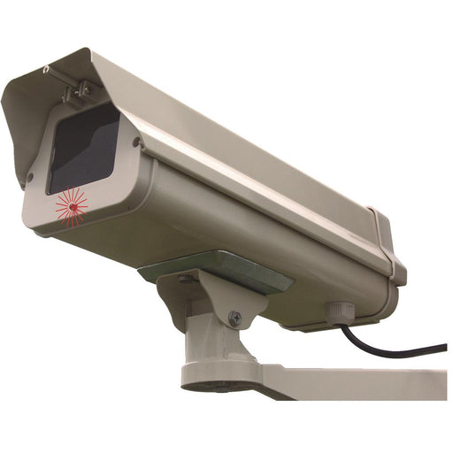 Outdoor Dummy Security Camera with LED Light