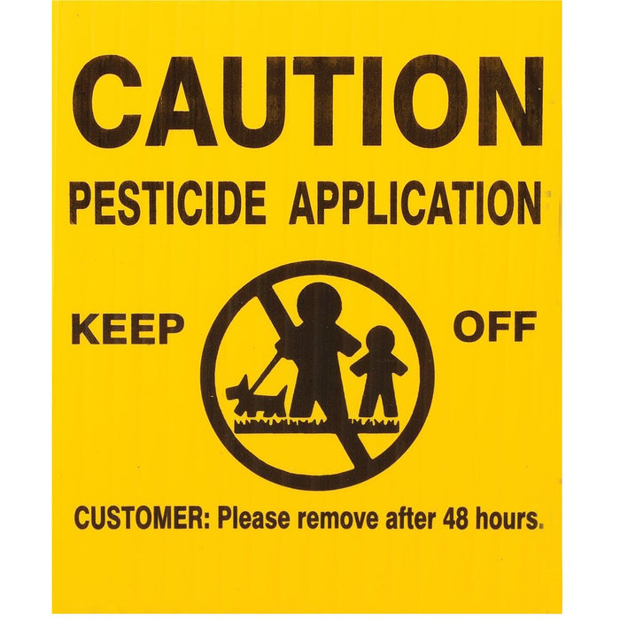 Universal Pesticide Application Signs