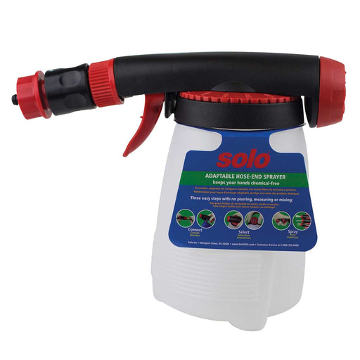 Solo Adaptable Hose-End Sprayer, 32 oz