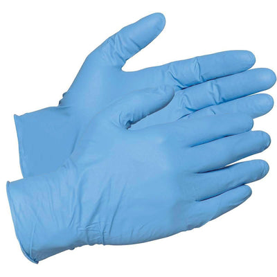 Nitri-Cor Silver™ 3.5mil Textured Nitrile Gloves Box of 100