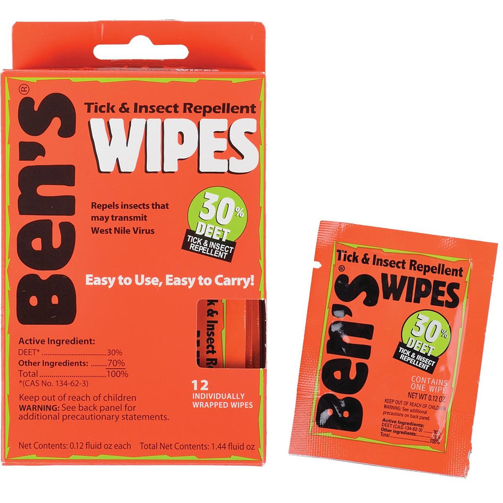 Ben's® Insect Repellent Wipes