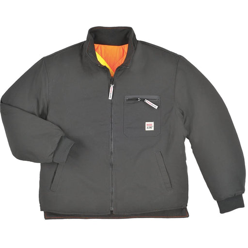 Work King Xtreme Vis ANSI Class 2 Reversible Jacket