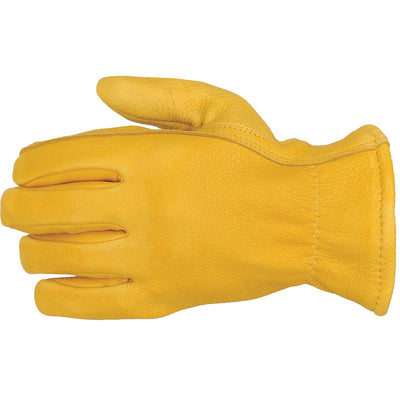 Smooth Grain Elkskin Gloves