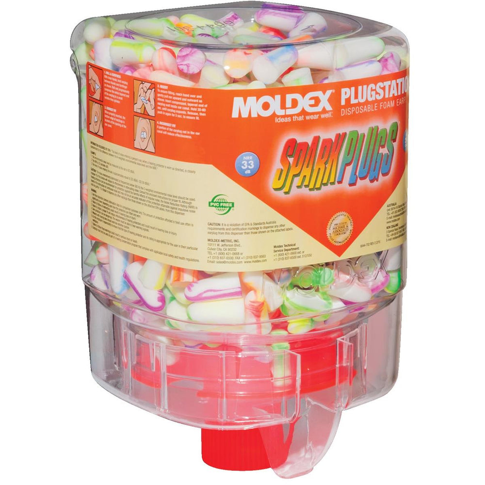 SparkPlug® Dispenser for Moldex Earplugs