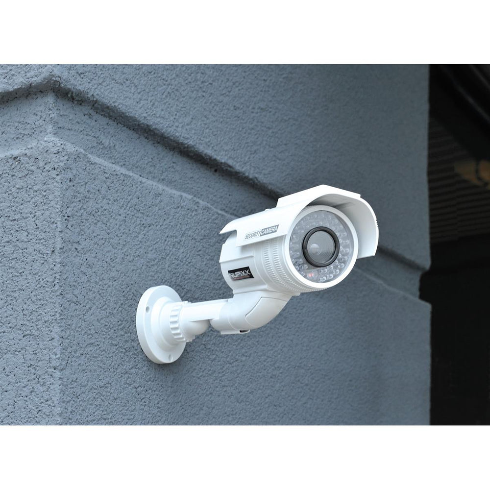 Fake Indoor/Outdoor Security Camera with Flashing LED Light