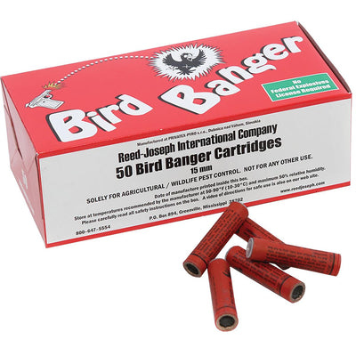 15mm Bird Bangers with Blank Launchers