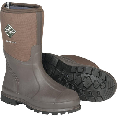 "Muck Cool Series 12""H All-Conditions Plain Toe Chore Boots"