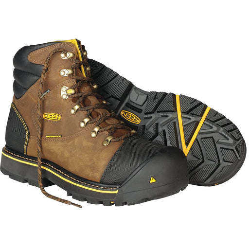 Keen Utility Milwaukee Series Waterproof Boots, Steel Toe
