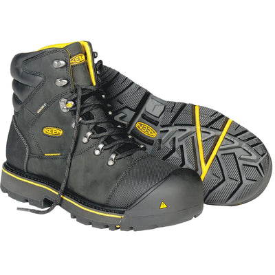 KEEN Milwaukee Series Waterproof Boots, Steel Toe