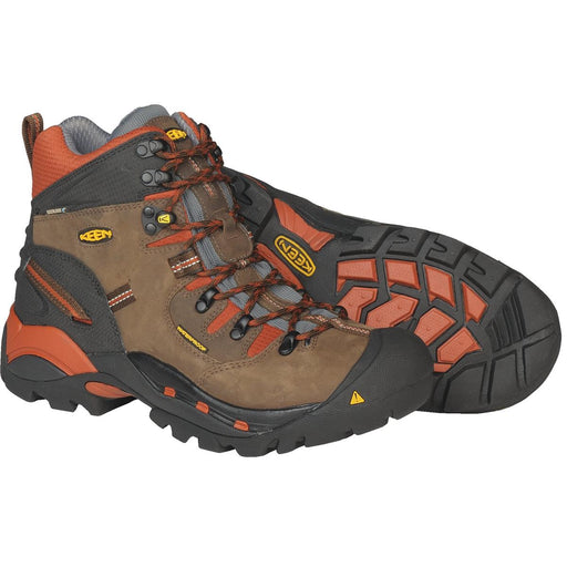 KEEN Pittsburgh Series Plain Toe Waterproof Boots
