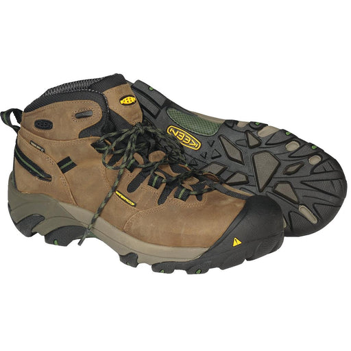 KEEN Detroit Steel Toe Mid Work Boots