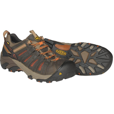 KEEN Flint Steel Toe Low Work Boots