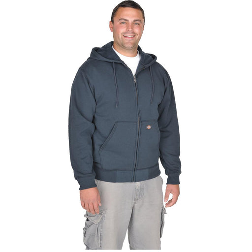 Dickies Zip-front Hooded Fleece Sweatshirts