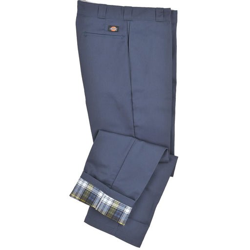 Dickies Relaxed-fit Flannel-lined Twill Pants