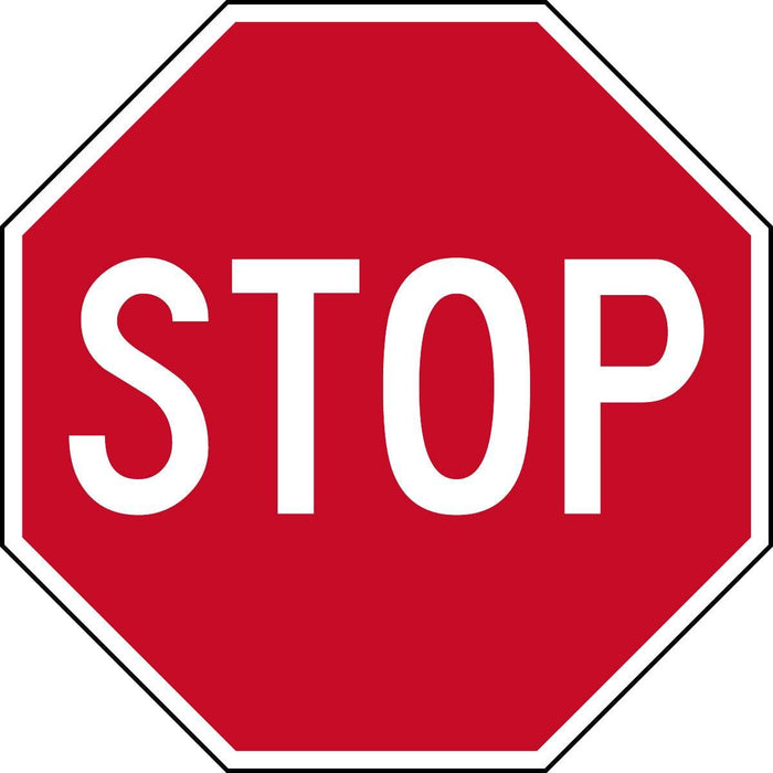 "Reflective ""STOP"" Sign"