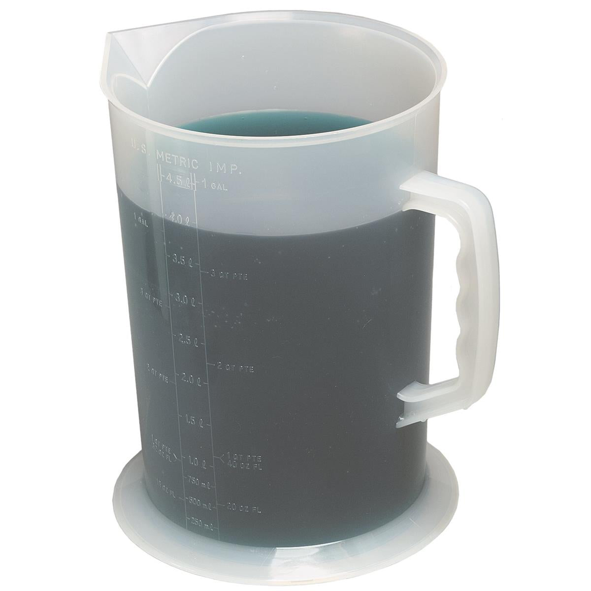 FUNNEL KING 1-gal. Polypropylene Measuring Pitcher