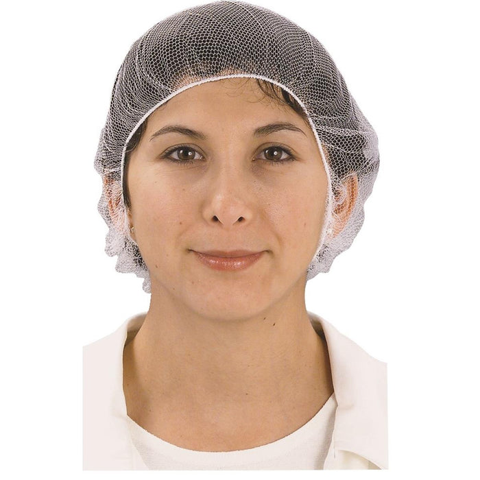 "Cellucap® 24"" Polyester Hairnets, Pkg. of 100"