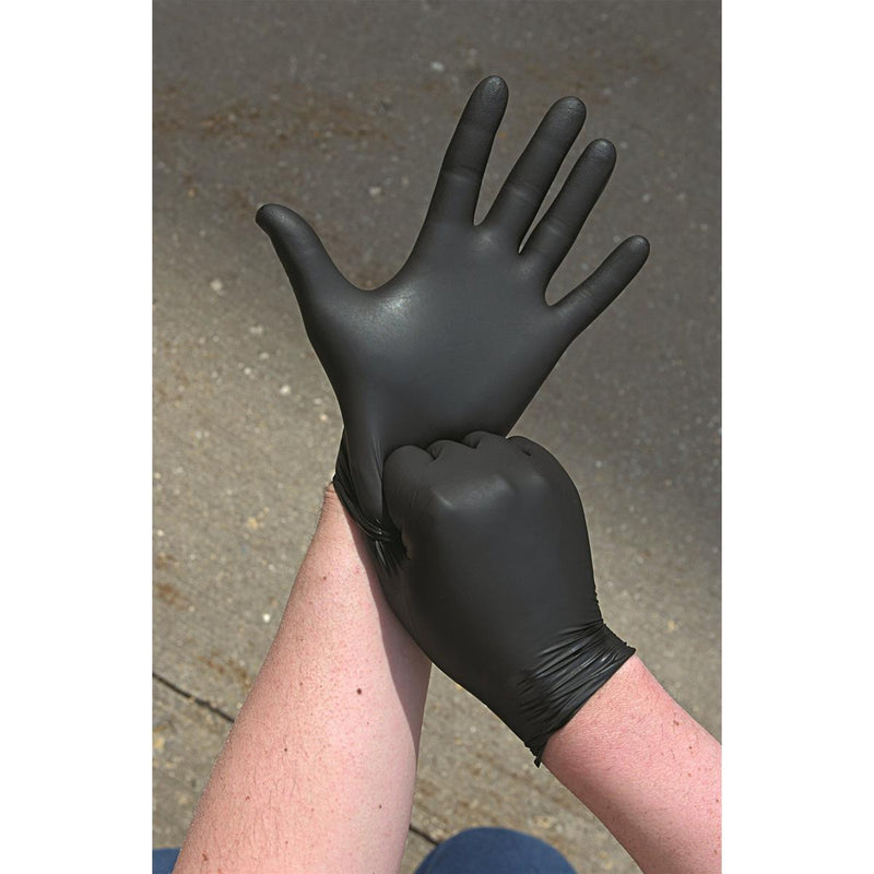 Showa N-Dex® Black Nitrile Gloves