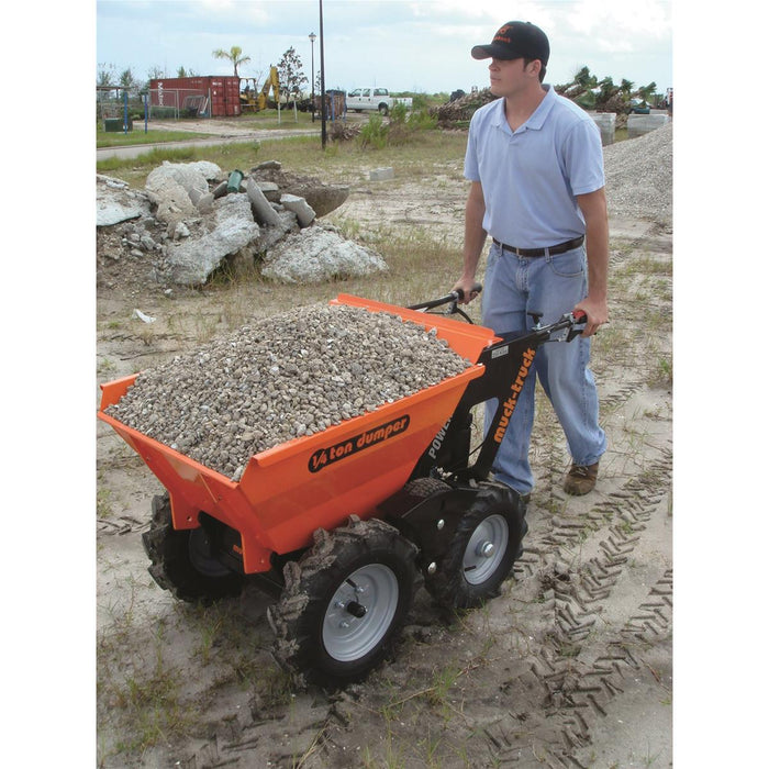 Muck Truck Powered Wheelbarrow, 550-lb. Capacity