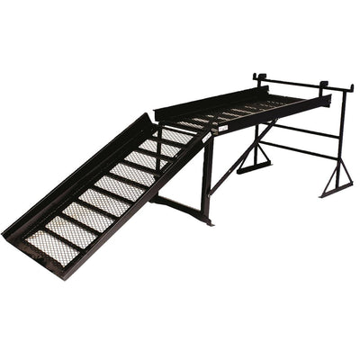 Loading Ramp Accessory for Muck Truck