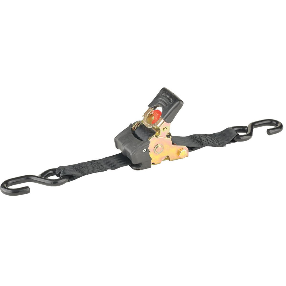 "Retractable Ratchet Strap, 6'L x 2""W"