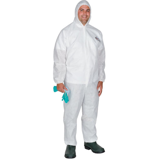 Kimberly Clark A30 Breathable Hooded Coveralls, Elastic Wrists/Ankles