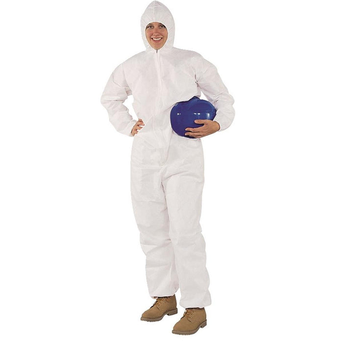 Kimberly Clark A20 Coveralls With Hood, Elastic Wrist & Ankles