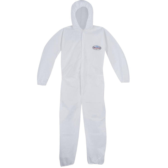 Kimberly Clark A20 Coveralls w Hood, Elastic Wrist & Ankle