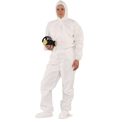 Kimberly Clark A20 Coveralls With Hood, Elastic Wrist and Booties