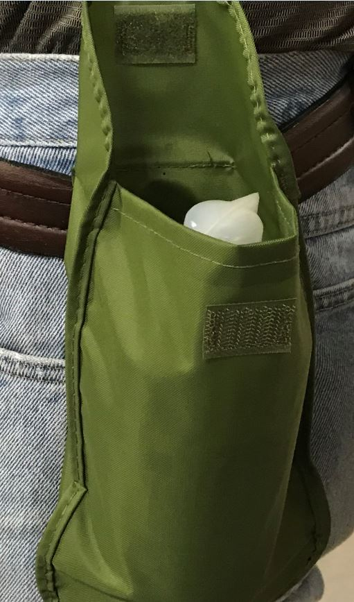 Belt Pouch for 16 oz Eyewash Bottles