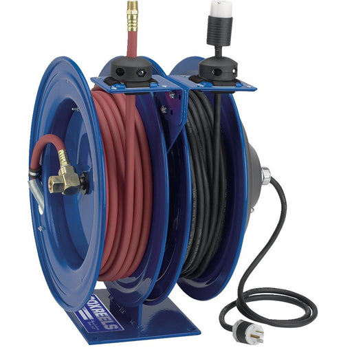 COXREELS Air and Electric Combination Hose/Cord Reel