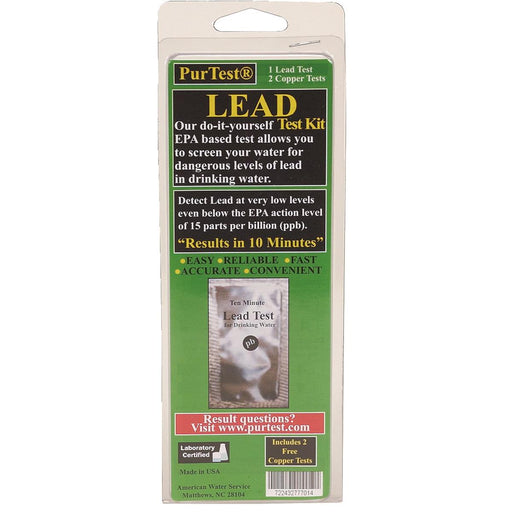 Water Test Kit for Lead and Copper