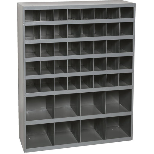 Industrial-grade, 48-bin Storage Unit