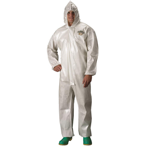 ChemMax® 2 Saranex™ Hooded Coveralls with Bound Seams