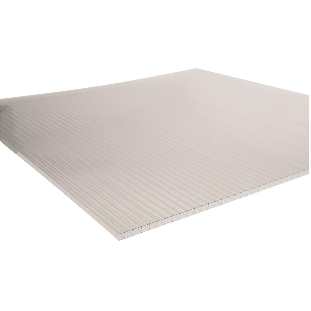 8mm, Clear, Twin Wall Polycarbonate Greenhouse Panels ...