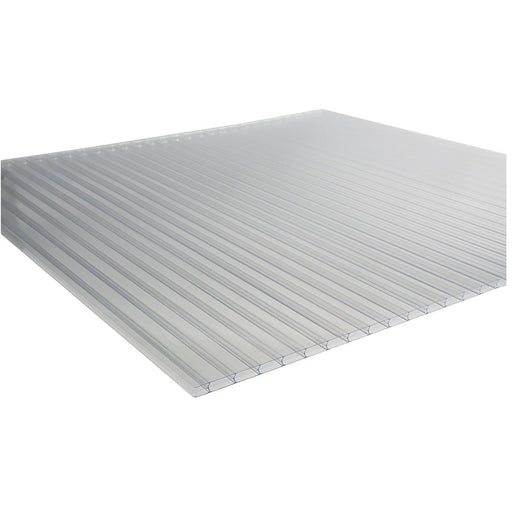 8mm, Clear, Triple Wall Polycarbonate Greenhouse Panels