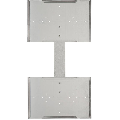 Galvanized Double-Faced Hanging Sign holder