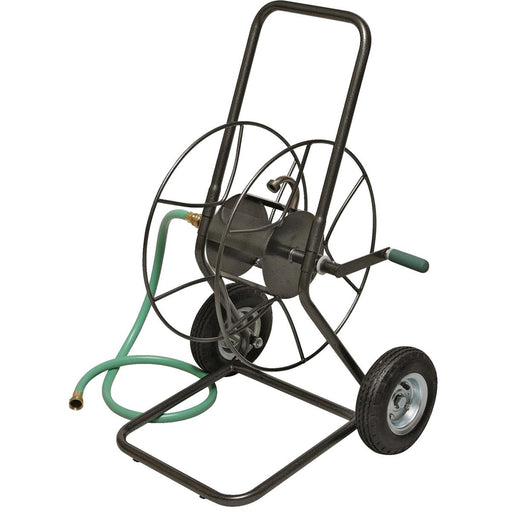 Two-Wheeled Steel Hose Cart